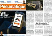 Article sur magazine